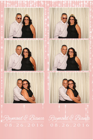 Raymond & Bianca Wedding August 26,  2016