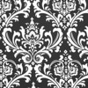 Black / White Damask