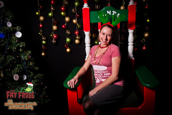 The Merry Mason Lovette Christmas Party @ The Fat Frogg, Elon, NC 12/20/2014