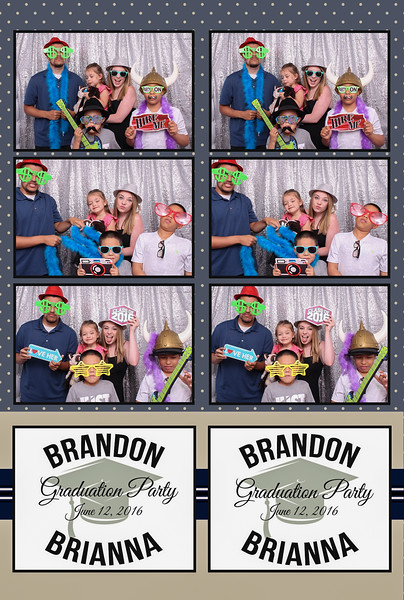 Uribe Grad Party Photo Booth