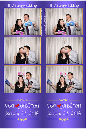 Vicki and Jonathan Wedding January 23, 2016