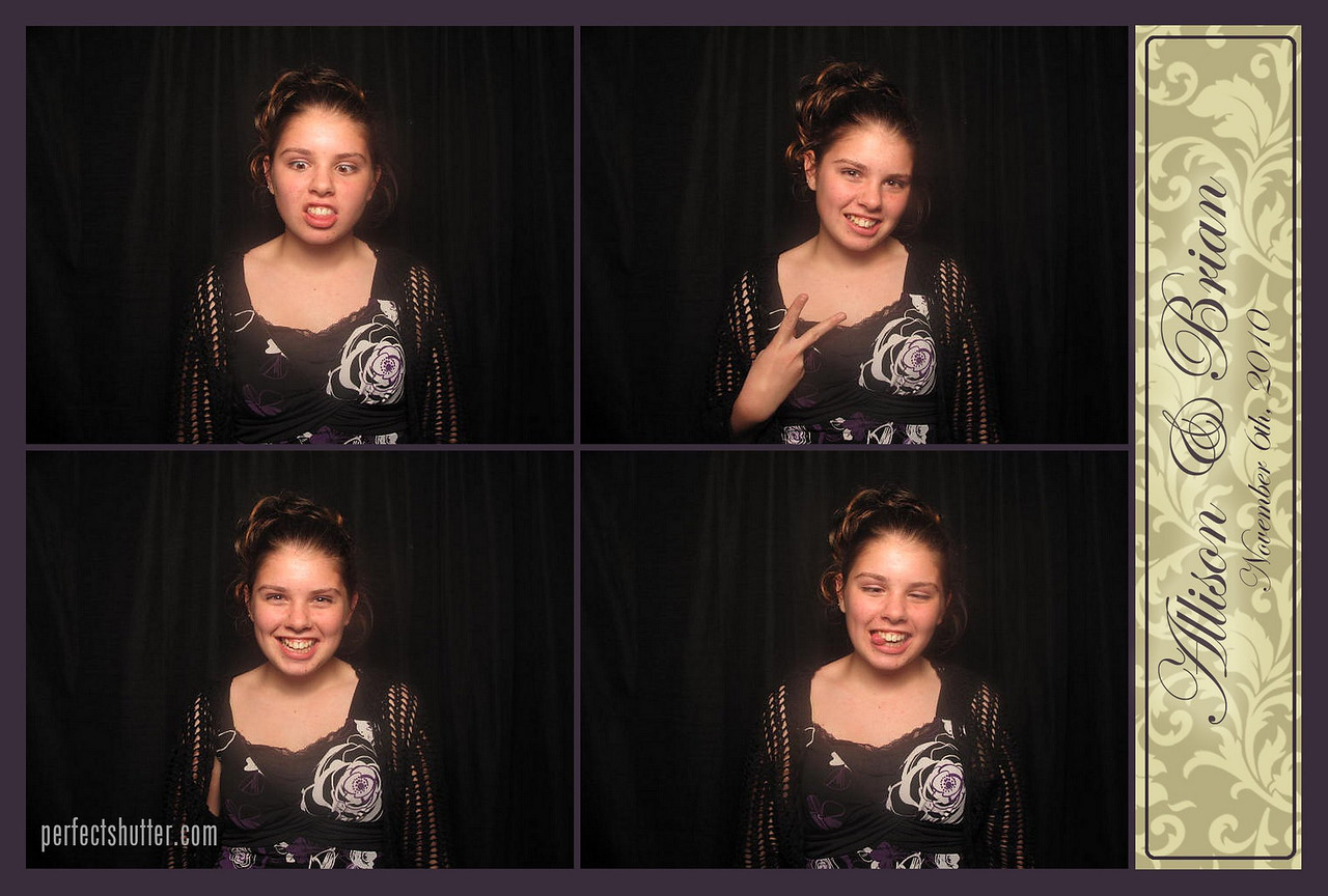 Windsor, ON: Allison Brian Wedding Photo Booth Rental