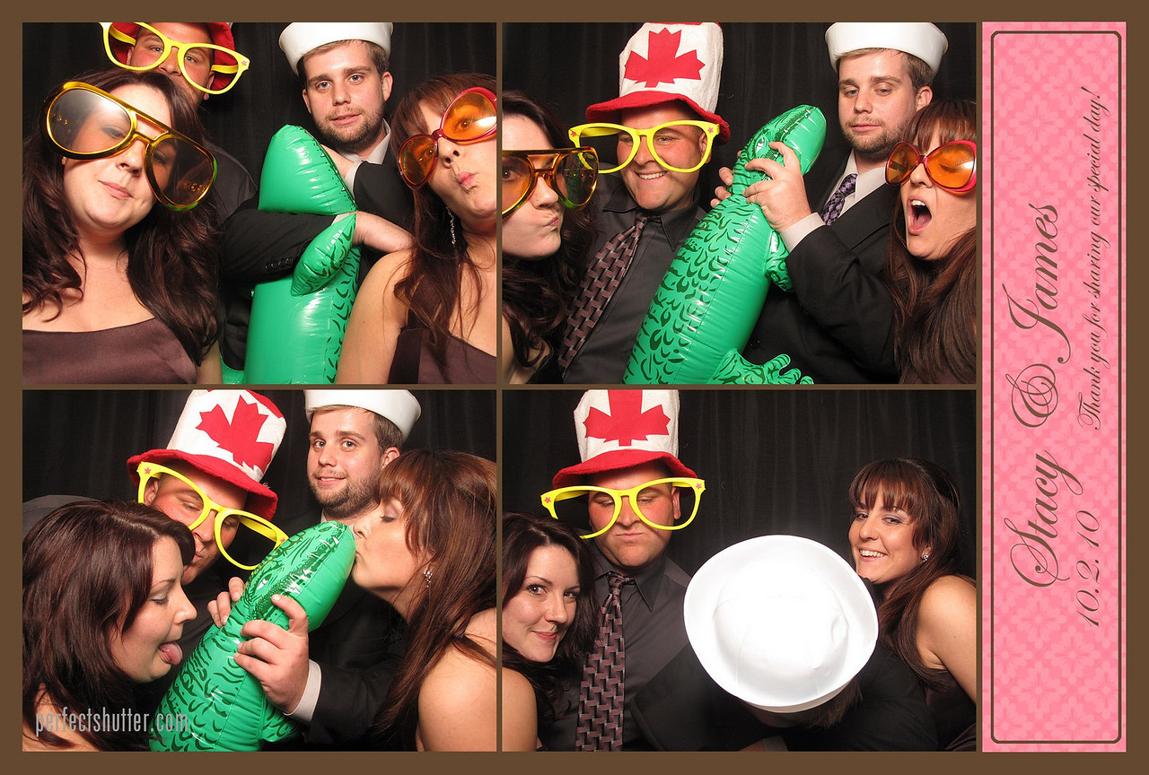 Windsor, ON: Stacey James WEdding Photo Booth Rental