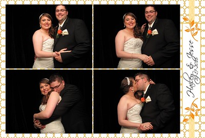 Windsor Photobooth: Hailey and Jesse Rental