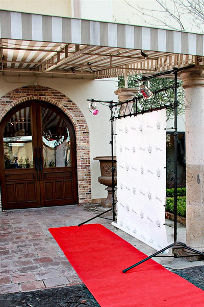 This is our very popular red carpet service.  Let your guests leave their vehicles directly onto the red carpet!  Comes with a photographer and lots of flash for that paparazzi feel.  Make your guests feel special!