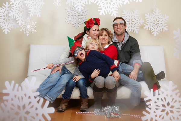 Holiday Family Photobooth