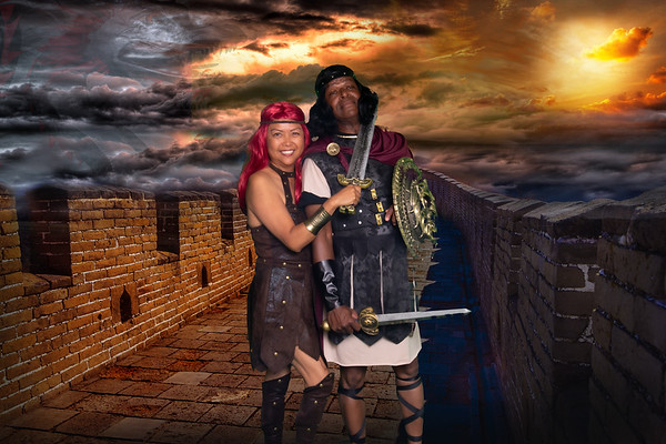Jeanne and Robert Halloween Party on Oct 26, 2019.