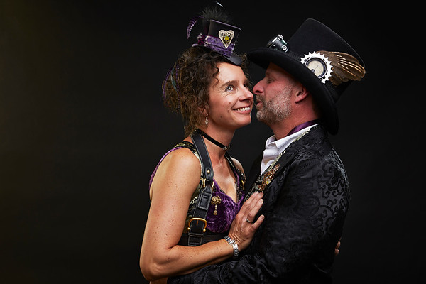 Matt & Val Steampunk Wedding