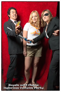 Royale with Cheese Inglorious Costume Party