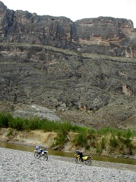 Rio Grande River and Mexico