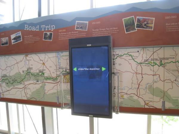 BRP Visitor Center Cool sign