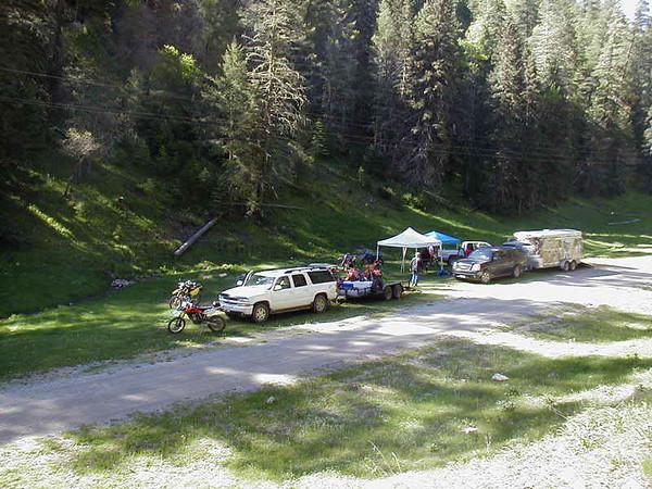 Base camp near T113