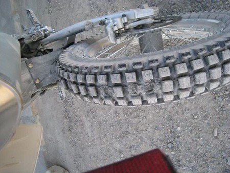 what river road and old ore road do to a trials tire