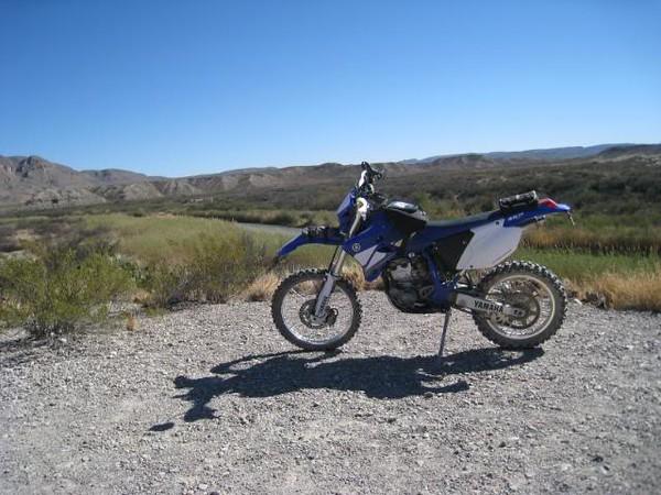 WR250 at Boquillas Canyon