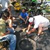 BigA teaches tire mounting