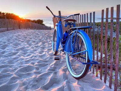 The Old Blue Bike at the Cape