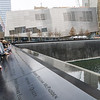 9/11 Memorial; Museum Entry Pavilion in background (photographed by Marc Rochkind, 25-March-2012)