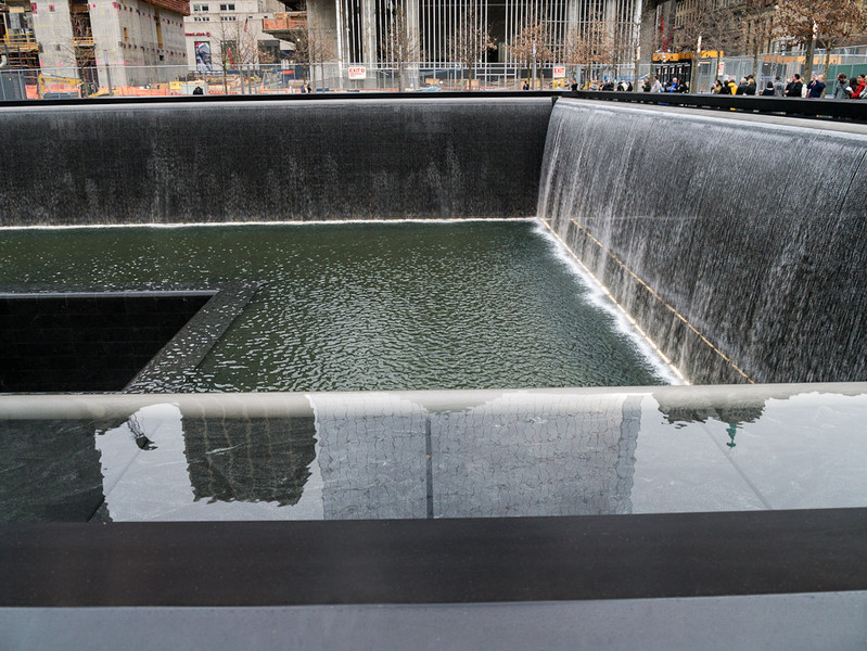 9/11 Memorial (photographed by Marc Rochkind, 25-March-2012)