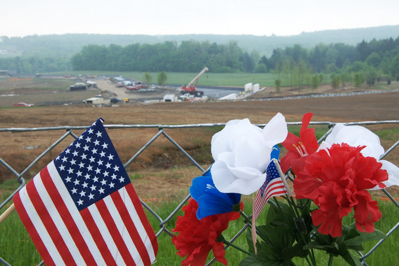View from the overlook, May 2011 (Image credit:  Dick Snodgrass)