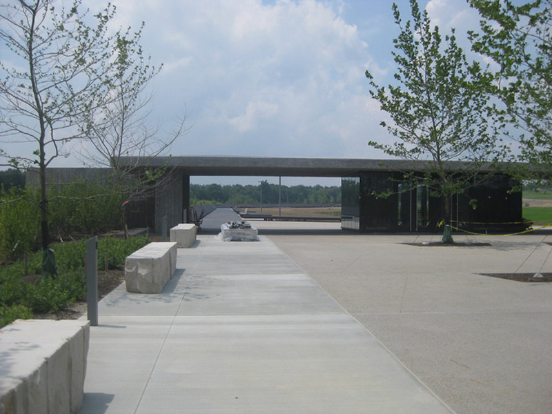 June 2011: Visitor Shelter and Gateway area.