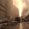New York, NY, September 13, 2001 -- Wreckage litters the streets surrounding the World Trade Center.<br /> <br /> Photo by Andrea Booher/ FEMA Photo News