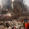 New York, NY, September 13, 2001 -- Clean up of the wreckage at the World Trade Center continues.<br /> <br /> Photo byAndrea Booher/ FEMA News Photo