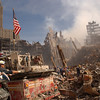 New York, NY, September 13, 2001 -- Urban Search and Rescue teams inspect the wreckage at the World Trade Center.<br /> <br /> Photo byAndrea Booher/ FEMA News Photo