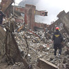 New York, NY, September 20, 2001 -- Rescue workers from the Utah Task Force-1 Urban Search and Rescue team prepare debris to be cleared at the World Trade Center crash site.<br /> <br /> Photo by Mike Rieger/ FEMA News Photo