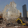 New York, NY, September 22, 2001 -- The wreckage at the World Trade Center is slowly being cleared away.<br /> <br /> Photo by Michael Rieger/ FEMA News Photo