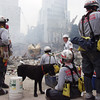New York, NY, September 24, 2001 -- Members of the Florida Urban Search and Rescue Task Force-1 prepare to enter Ground Zero to search for victims of the World Trade Center collapse.<br /> <br /> Photo by Michael Rieger/ FEMA News Photo