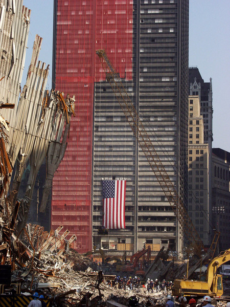 New York, NY, September 22, 2001 -- Clean up and rescue operations are  underway at the World Trade Center.<br /> <br /> Photo by Michael Rieger/ FEMA News Photo