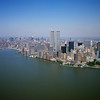 Aerial view of the World Trade Center taken in July 2001.