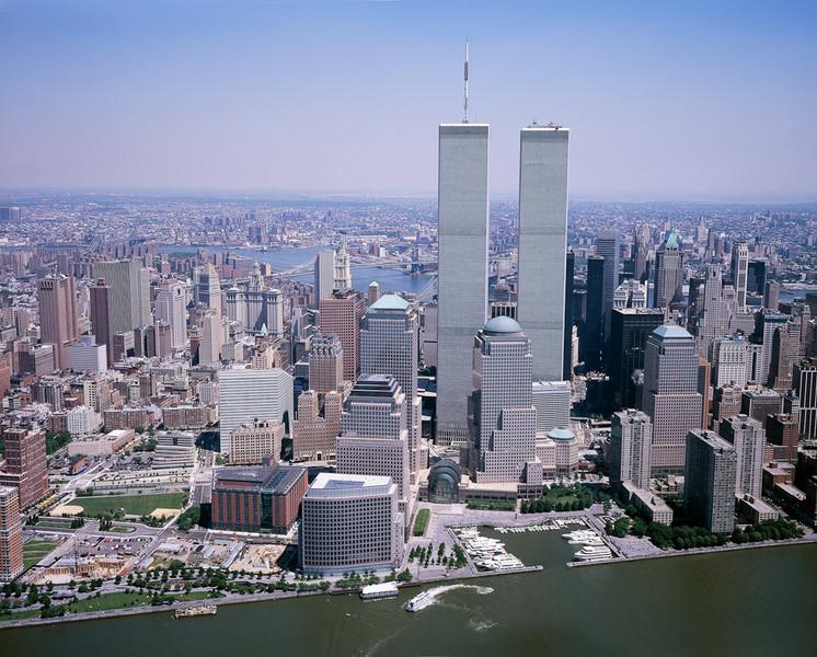New York City Skyline - World Trade Center[© Carol M. Highsmith]