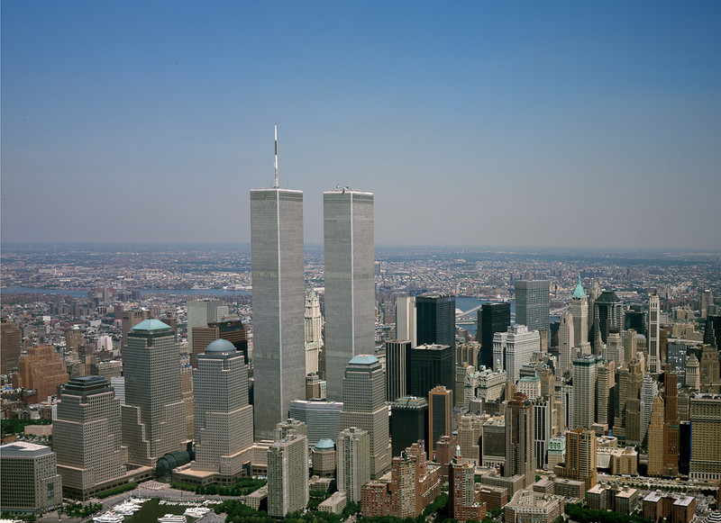 World Trade Center Taken a couple months before the 9/11 tragedy.[© Carol M. Highsmith]