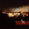 010911-N-3783H-169<br /> Arlington, Virginia (Sept. 11, 2001) -– Smoke and flames rose over the Pentagon late into the night, following a suspected terrorist crash of a commercial airliner into the southwest corner of the Pentagon.  Part of the building has collapsed meanwhile firefighters continue to battle the flames and look for survivors.  An exact number of casualties are unknown. The building was evacuated, as were the federal buildings in the Capitol area, including the White House.  U.S. Navy Photo by Photographer's Mate 2nd Class Bob Houlihan (Released)