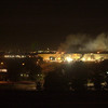 010911-N-1350W-022<br /> Arlington, Virginia (Sept. 11, 2001) -– Smoke and flames rise over the Pentagon following a terrorist attack in which terrorists hijacked a commercial airlined and crashed it into the side of the Pentagon.  Part of the building collapsed while firefighters continued to battle the flames and look for survivors.  The building was evacuated, as were the federal buildings in the Capitol area, including the White House.  U.S. Navy Photo by Photographer's Mate 2nd Class Lisa Borges (RELEASED)