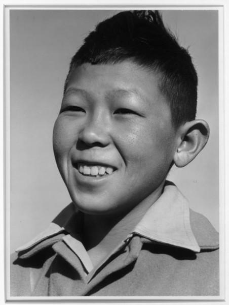 2000-07-13: Little boy, Katsumi Yoshimura, Manzanar Relocation Center, California