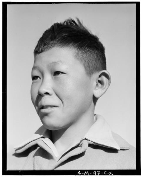 2000-03-22: Katsumi Yoshimura, 3 of 3, Manzanar Relocation Center, California