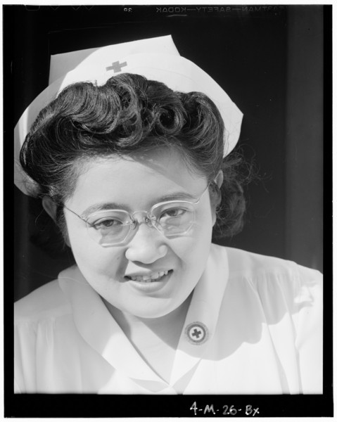 2000-03-23: Catherine Natsuko Yamaguchi, nurse, Manzanar, 2 of 4, Manzanar Relocation Center, California