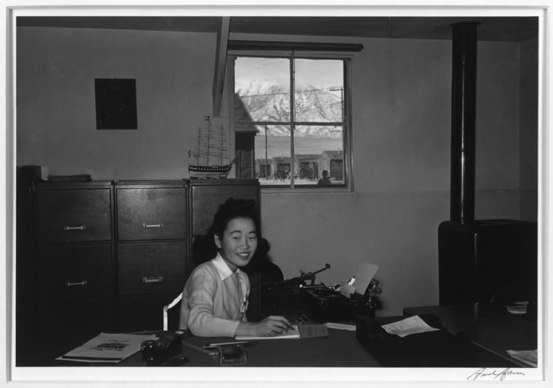 2000-07-13: Yoshiko Joan Mori, stenographer in Education Office, Manzanar Relocation Center