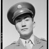 2000-03-23: Corporal Jimmie Shohara has two ribbons: Good Behavior pre-Pearl Harbor, Rifle and Pistol Citations, 2 of 2, Manzanar Relocation Center, California