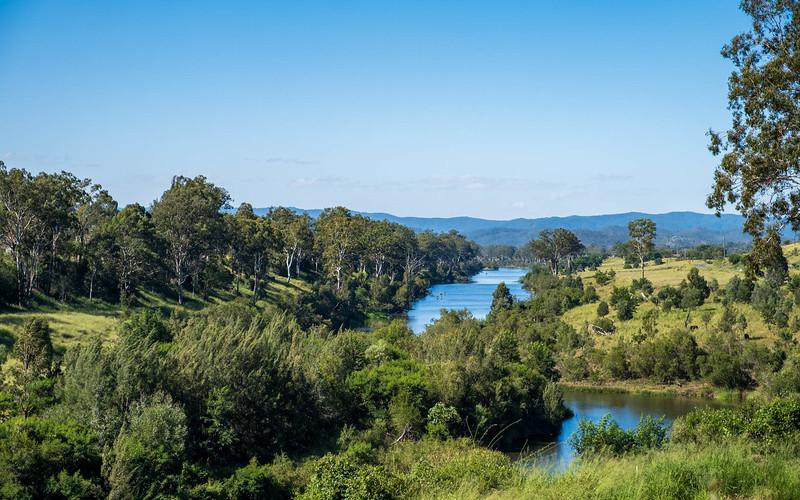 BVRT: View to Brisbane River