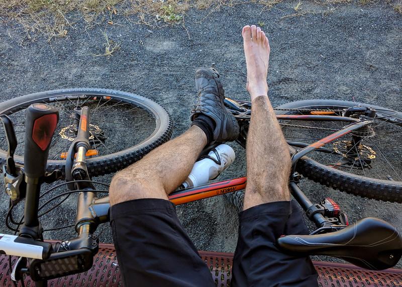 BVRT tan line after a 130km long bike ride