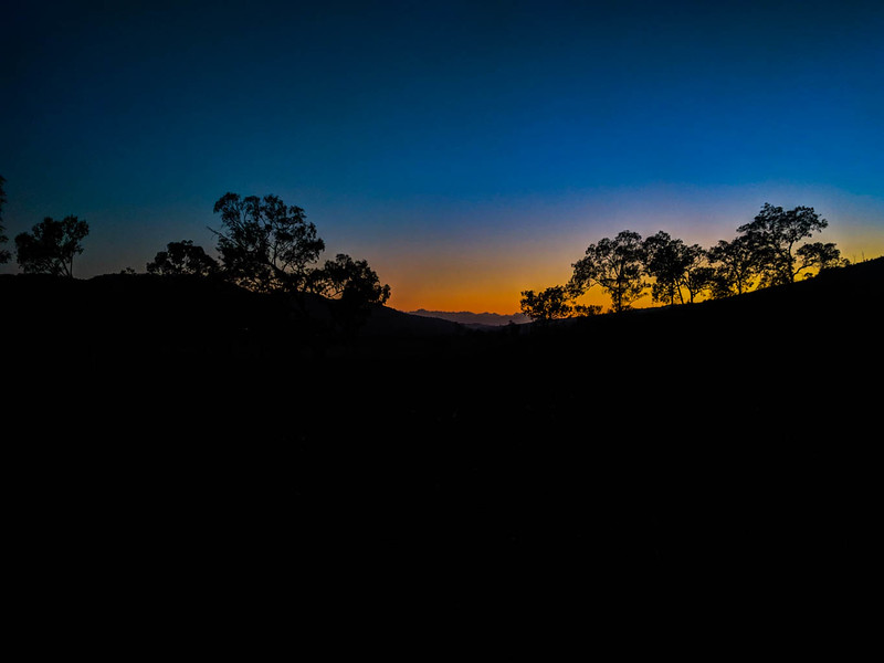 Sunrise on the Brisbane Valley Rail Trail