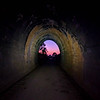 Sunrise from the Yimbun Railway Tunnel on the BVRT between Toogoolawah and Moore