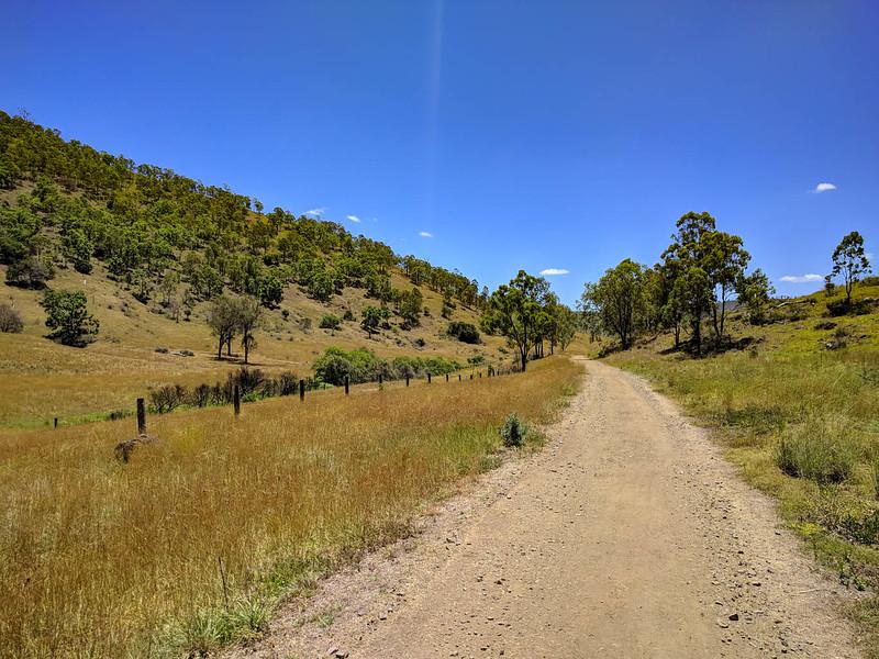 Brisbane Valley Rail Trail between Blackbutt and Yarraman