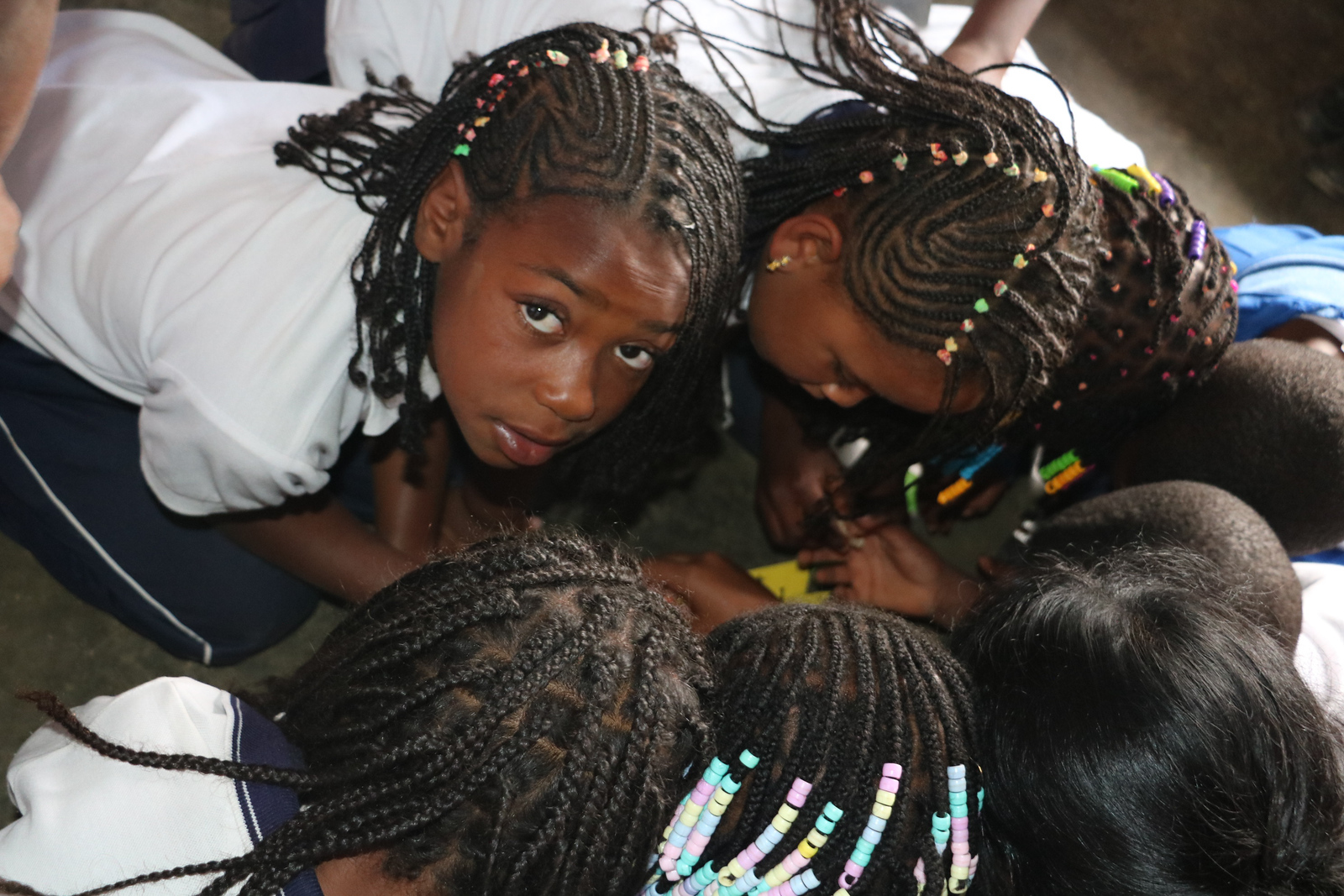 School Children from La Alsacia