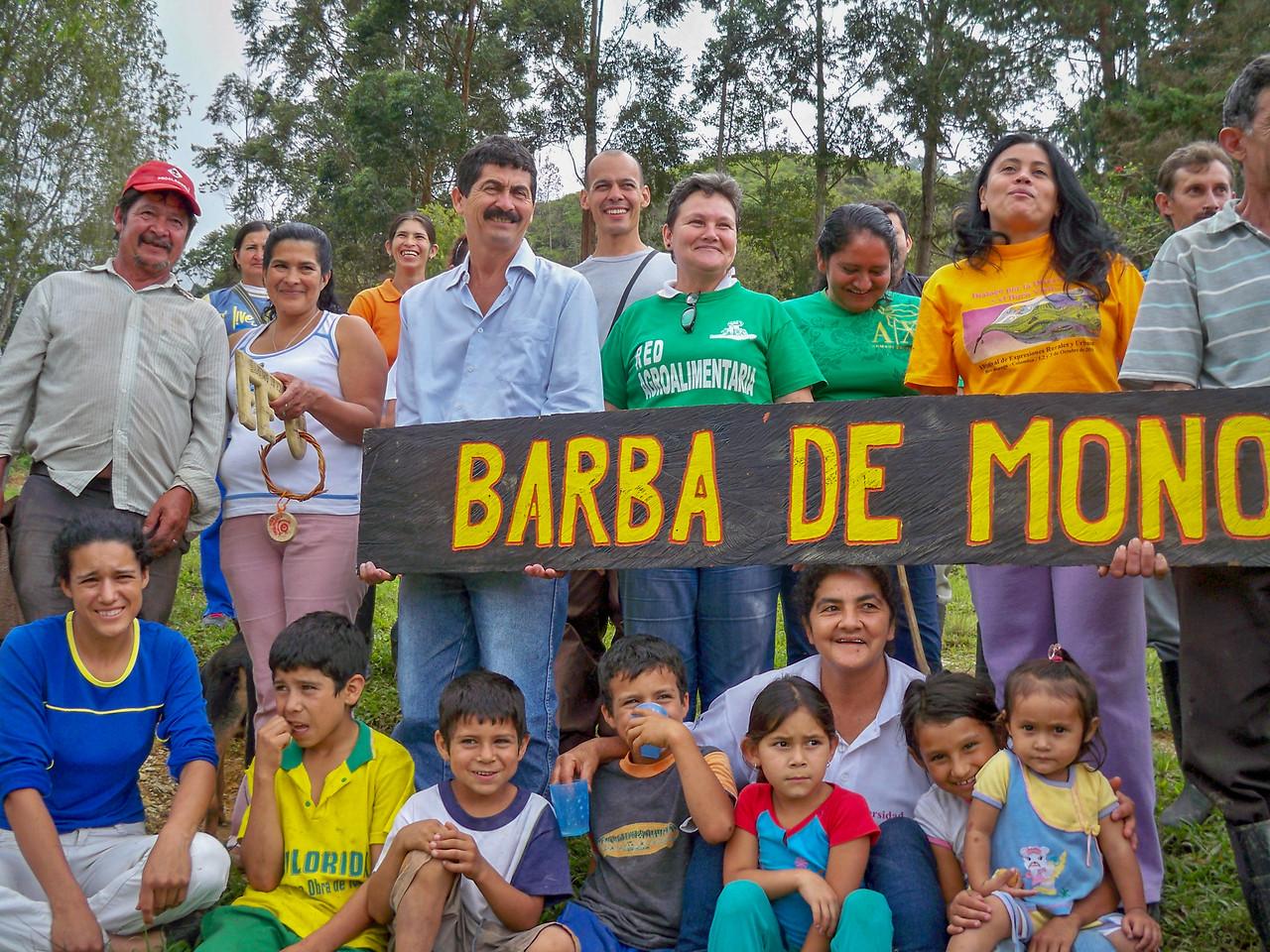 The community of Barba de Mono