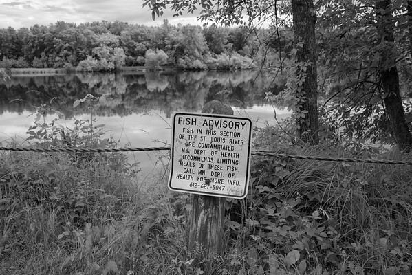 The River is one of the ten most polluted rivers in the United States, but many people still enjoy fishing in it. It's cleaner than it used to be, but faces threats from a proposed massive new copper mine upstream.