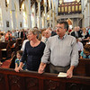 Wedding Anniversary Mass at the Cathedral of the Holy Cross in Boston, Sunday, June 26, 2011. (Photo/Lisa Poole)